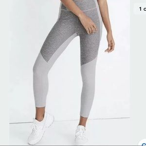 Outdoor Voices Warm Up Two Tone Leggings Tights